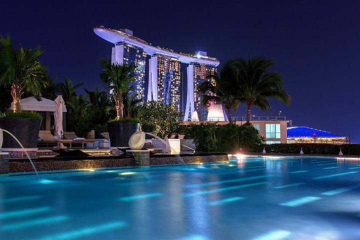 luxury hotel Singapore